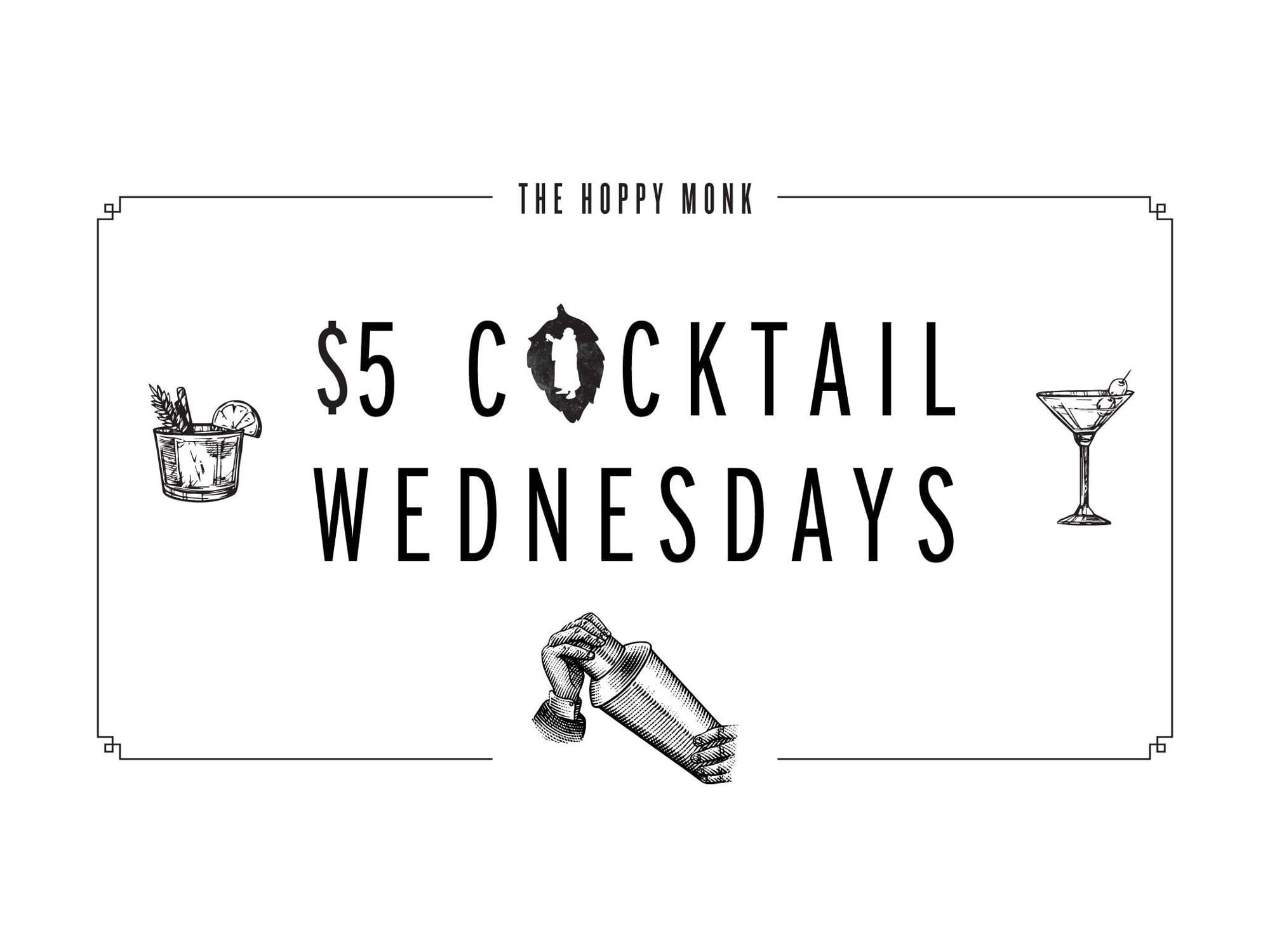 five-dollar-cocktail-wednesdays